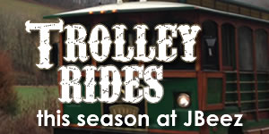 trolley rides at jbeez